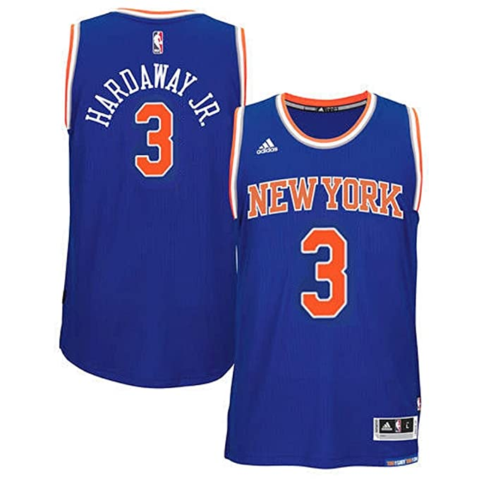 009c1d21b8d adidas Tim Hardaway Jr. New York Knicks NBA Youth Blue Road Replica Jersey  (Youth