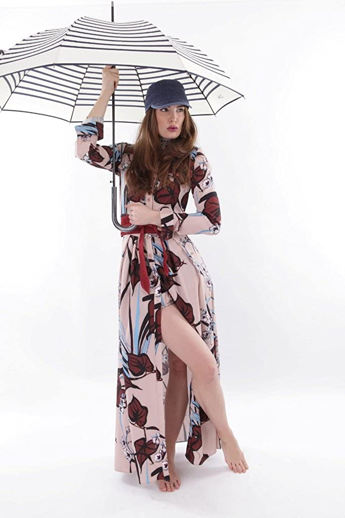 Jean Paul Gaultier Regenschirm Automatik Damen Herren Marius creme