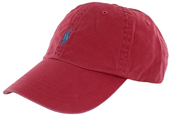 60e0ee172 Ralph Lauren Polo Baseball Cap - Old Rose - One Size  Amazon.co.uk  Clothing