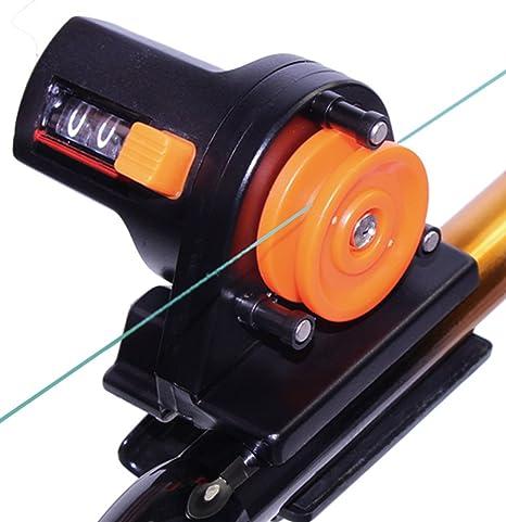 0-999m Sea Fishing Line Counter Trolling Reel Rod Tackle Depth Finder Meters US