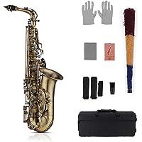 Muslady Eb E-flat Saxofón Alto Clave de Concha