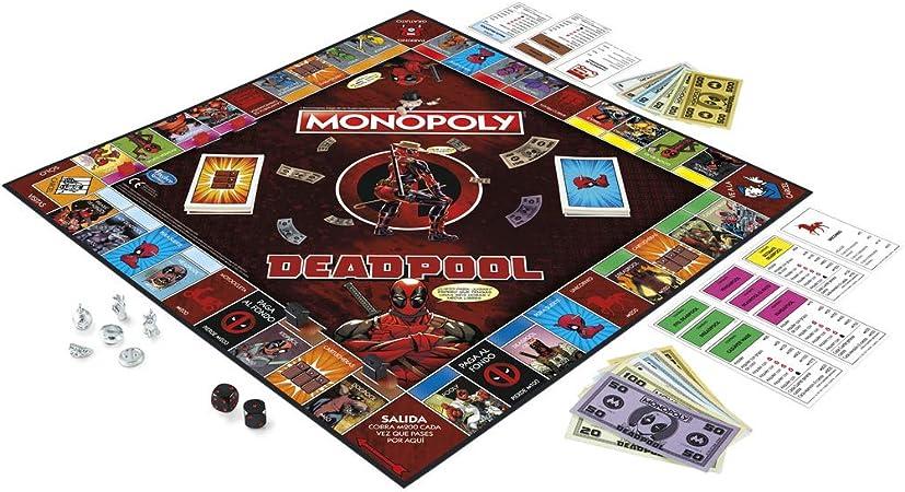 Monopoly - Deadpool (Hasbro E2033105): Amazon.es: Juguetes y juegos