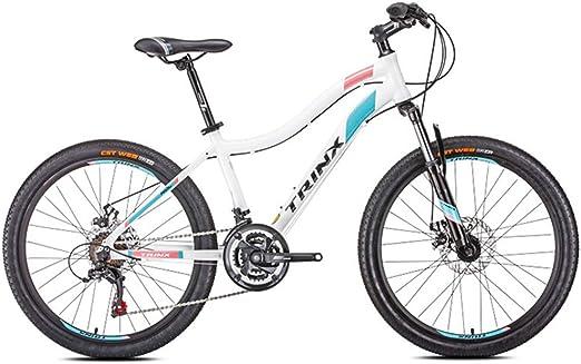 Bicicleta de Montaña para Mujer, 21 Velocidades Doble Freno ...