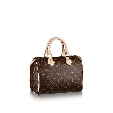 b3fd2881212d Louis Vuitton Monogram Canvas Speedy 25 M41109  Handbags  Amazon.com