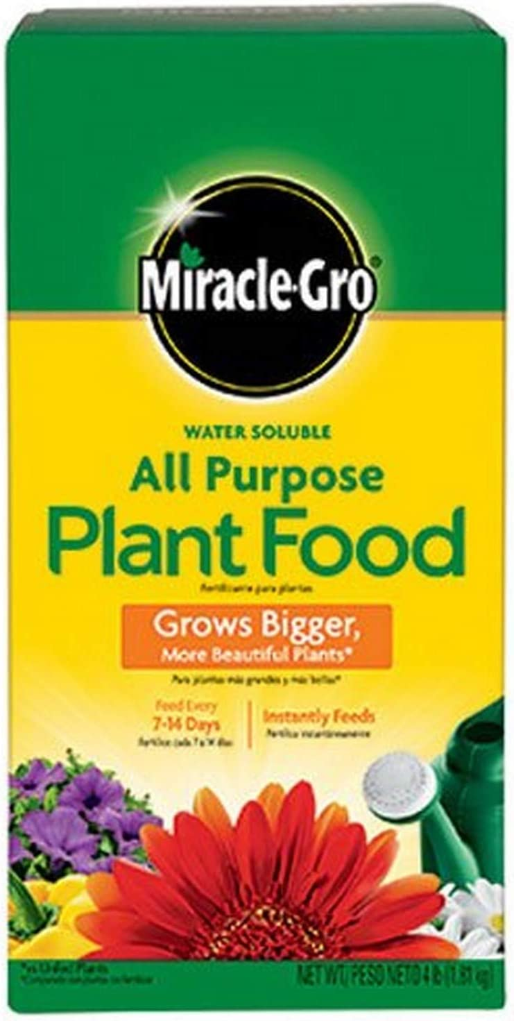 The Scotts Company Miracle Grow No.4 Water Soluble All Purpose Plant Food