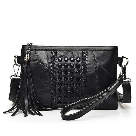 Bandolera bolsas para mujeres pequeñas,Nueva costura tejer ...