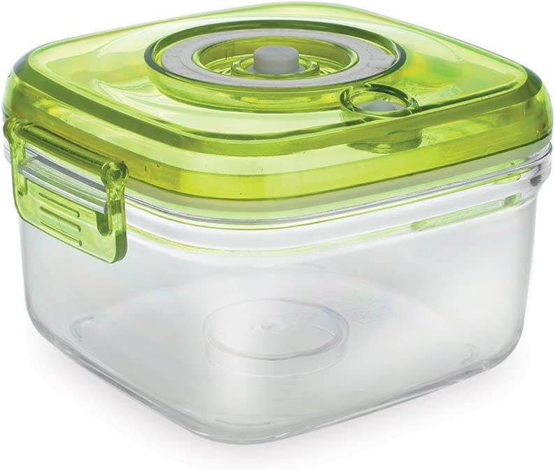 Vacucraft 1.4-Liter Vacuum Food Container