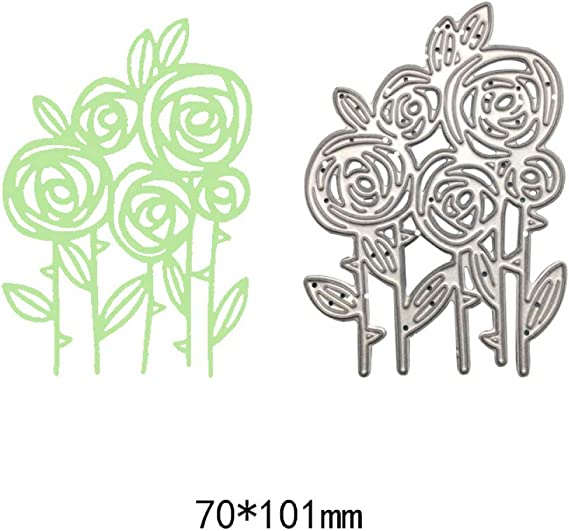 YAOKAIDAN Troqueles de Corte de Metal de Flores Nuevo