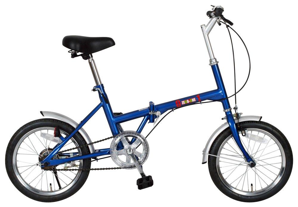 ミムゴ(MIMUGO) ZERO-ONE 折りたたみ自転車 16インチ ブルー No.72946 B00972QHWM