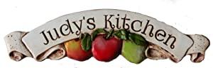 Apple Kitchen Decor Personalized Sign