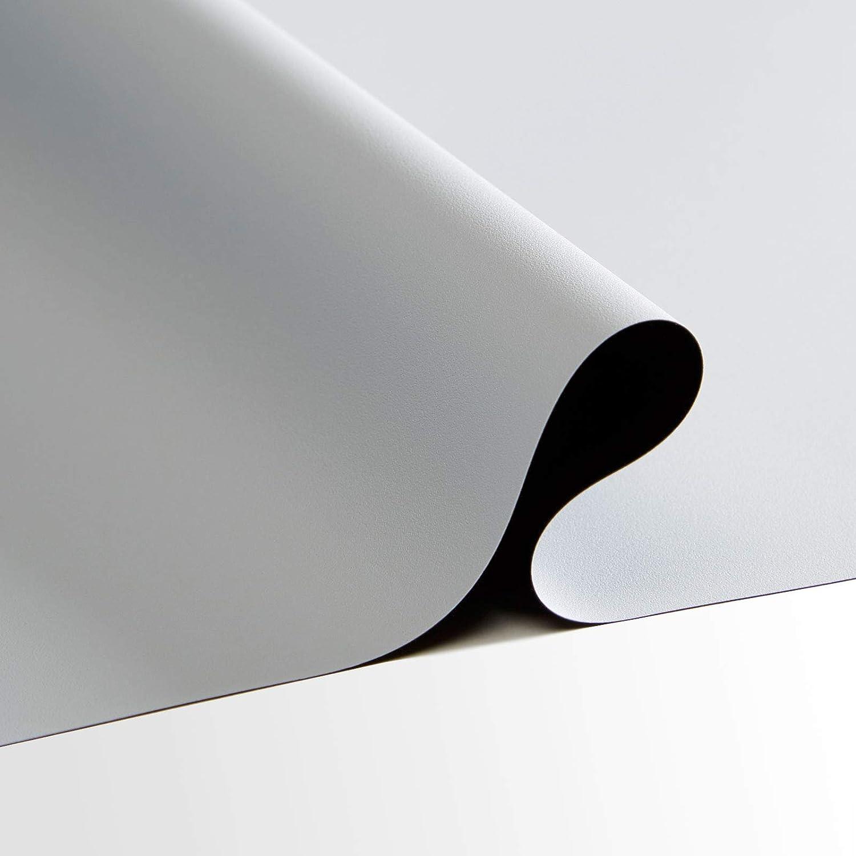 Carl 's flexigrayプロジェクタスクリーン材質( 16 : 9 | 116 x 205 | 235-in | Folded ) 4 K、HD、高コントラストグレー、グレー、低環境光、DIYムービー画面、フロントProj、カット布、Tensioned投影画面 B07B3N7LV8