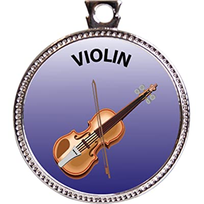 Keepsake Awards Violin Award, 1 inch Dia Silver Medal Musical Instrument Masteries Collection: Toys & Games