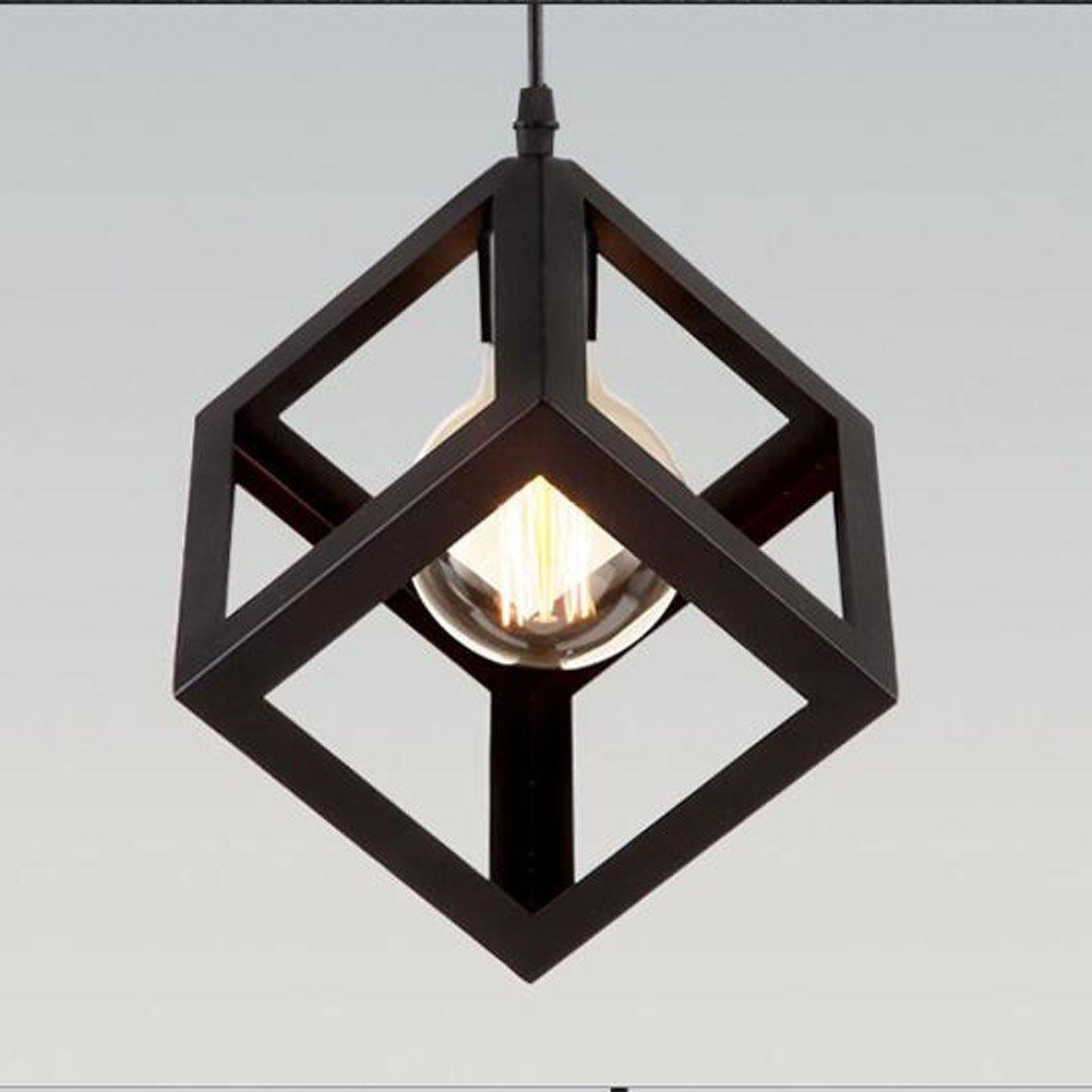Simple Industrial DIY Metal Ceiling Lamp Light Pendant Lighting Bulb Cafe [Classe énergétique A+] EUBEISAQI