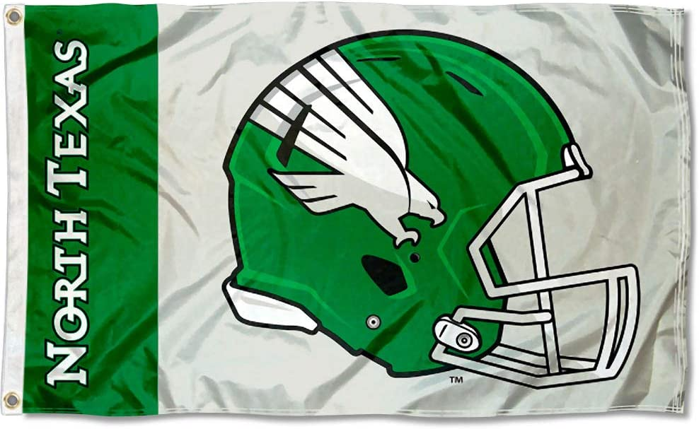 College Flags & Banners Co. North Texas Mean Green Football Helmet Flag 61OeqY2BOURL