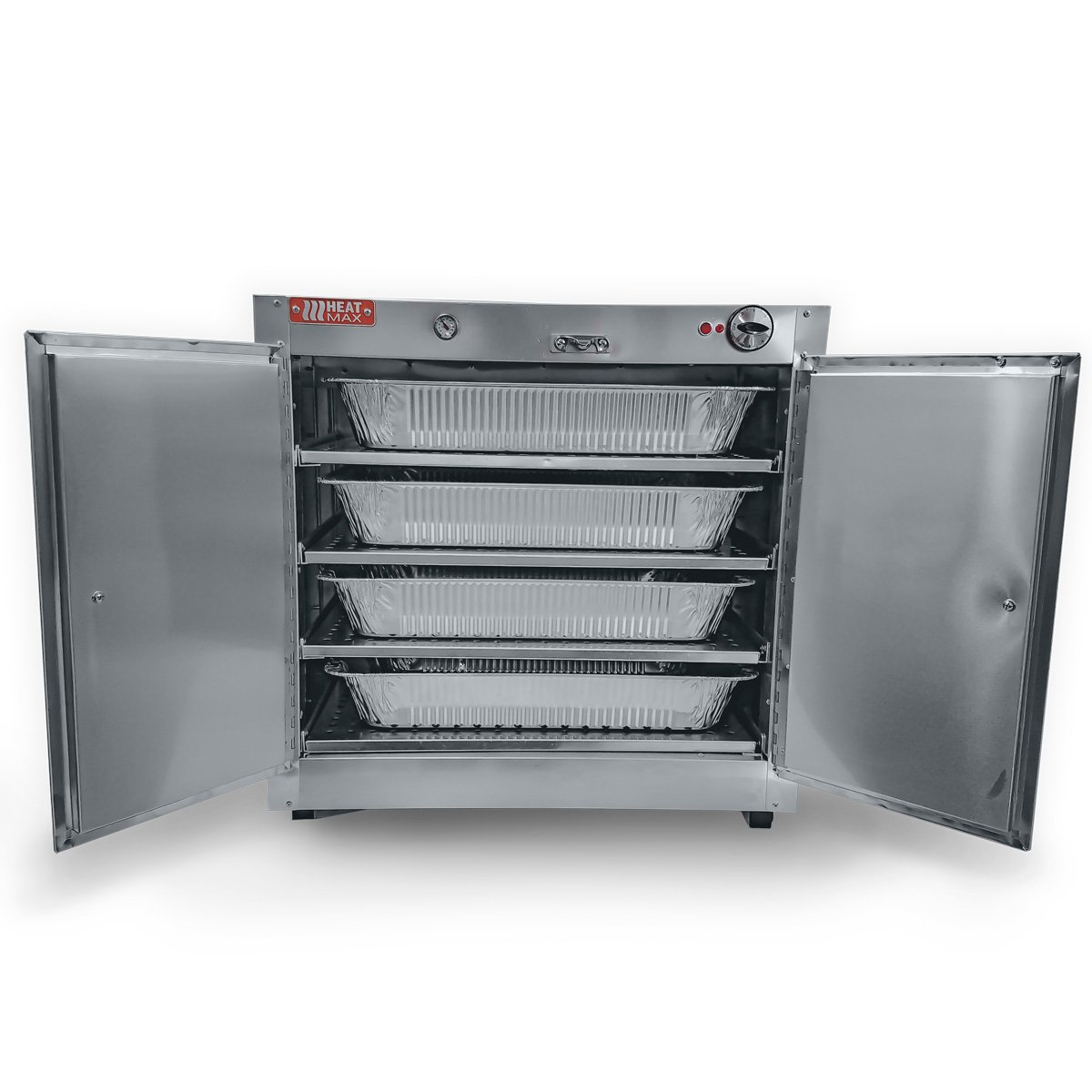 HeatMax Commercial Countertop Hot Box Cabinet Food Warmer 25x15x24 Display