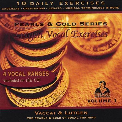 Lutgen Vocal Exercise Cd, Vol 1: For Low, Medium & Mezzo Soprano Voices (Judy Clark)