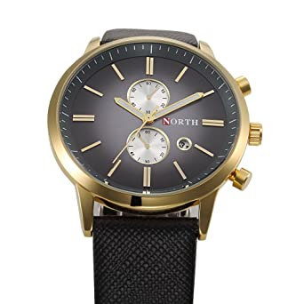 Relojes de Hombre De Moda 2018 Male Mens Watches Fashion Casual RE0086