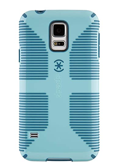 finest selection 21242 ef0ed Speck CandyShell Grip for Samsung Galaxy S5 - River Blue/Tahoe Blue