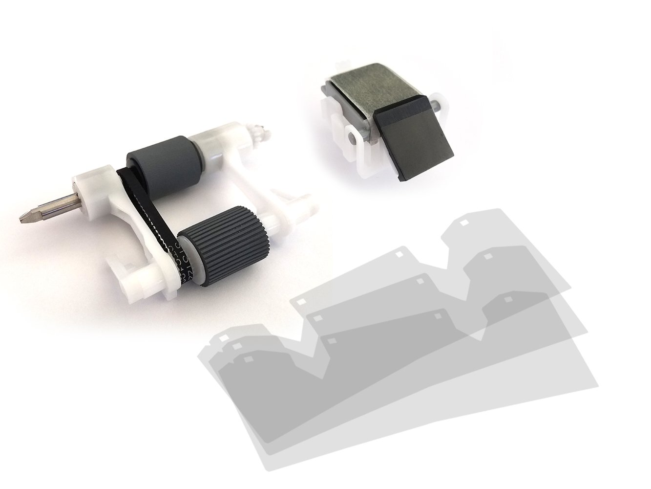 AltruPrint Q5997A-AP (Q5997-67901) ADF Kit for HP LaserJet 4345 / M4345 / 4730 / CM4730 includes Q6496A 3-Pack Mylar Replacement Strips by Altru Print