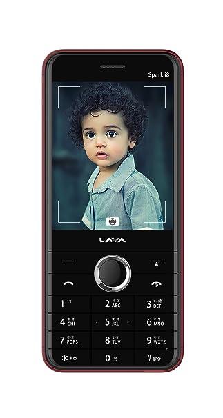 Lava Spark I8 Red Amazonin Electronics