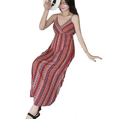 【 視線を釘付け 】BeauDO(ビュード) ボヘミアン ファッション ロングドレス レディース マキシ丈 リゾート ワンピース 春コーデ