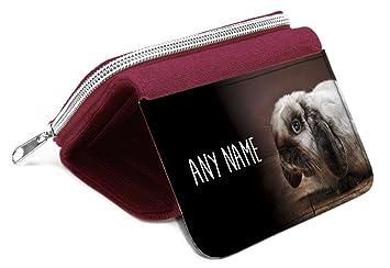 Rojo placa personalizable en inglés para conejo - y se llama ...