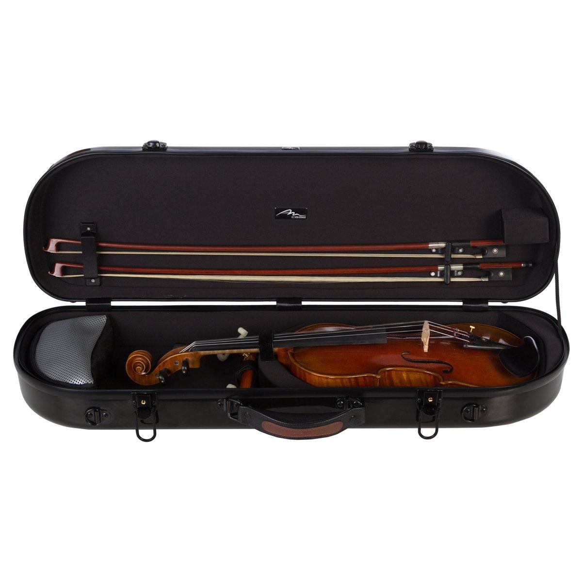 Estuche para violín fibra Street 4/4 Negro M-Case + music ...