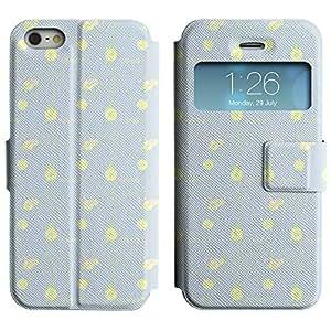 LEOCASE corazón lindo Funda Carcasa Cuero Tapa Case Para Apple iPhone 5 / 5S No.1006720
