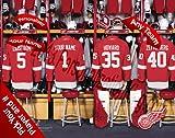 Detroit Redwings Team Locker R