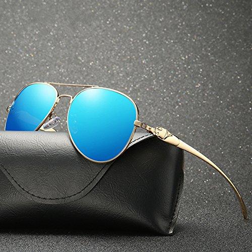 Retro para Marca Yao de Gafas Adultos clásico Gafas de Sol Mujeres de polarizadas Espejo de para 7 Nuevo Sol Gafas de conducción diseño de Sol CCrvwntpq