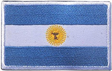 ShowPlus - Parche de velcro táctico con bandera de América del Sur bordado militar: Amazon.es: Juguetes y juegos