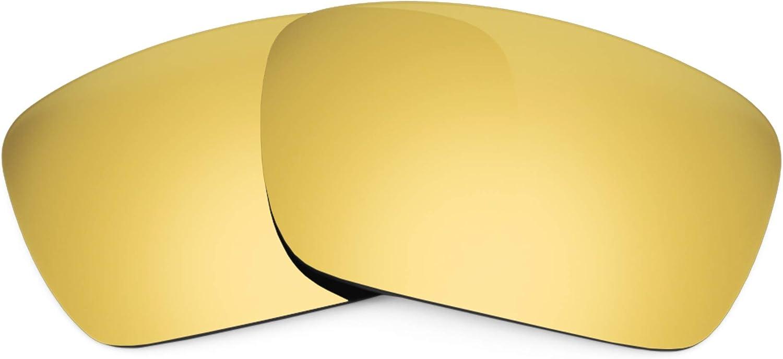 Revant Verres de Rechange pour Oakley Fuel Cell - Compatibles avec les Lunettes de Soleil Oakley Fuel Cell Or Mirrorshield - Polarisés