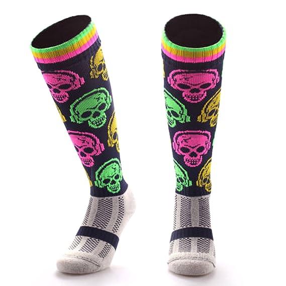 Calcetines de fútbol sala para niños, mujeres y hombres, calcetines de color (grandes