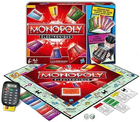 Hasbro 377121010 Monopoly - Juego de Mesa (electrónico ...