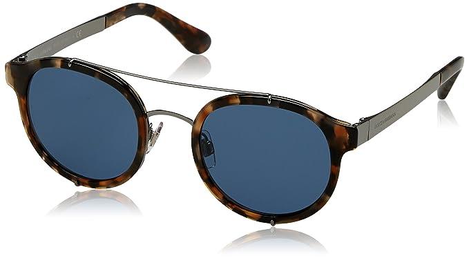 DOLCE & GABBANA Dolce & Gabbana Herren Sonnenbrille » DG2175«, blau, 314580 - blau/blau
