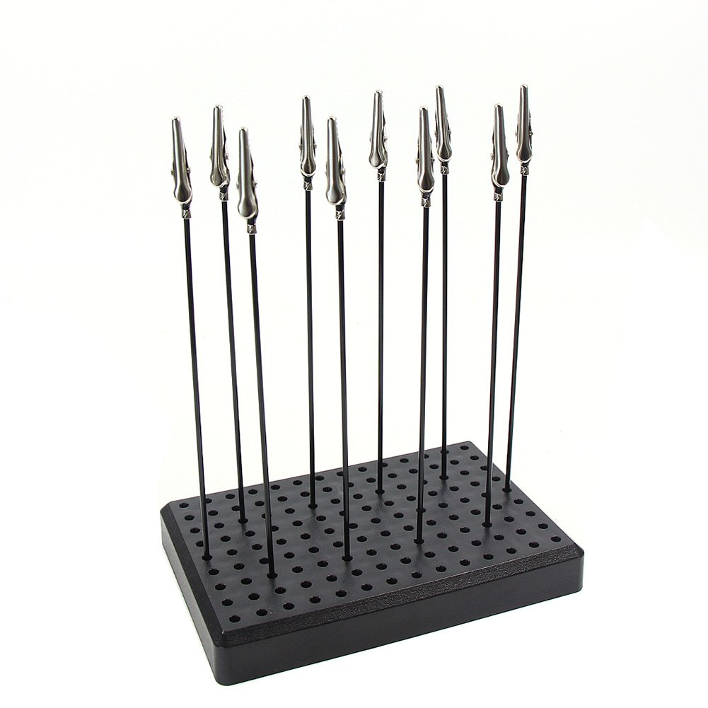 GJJC09B Painting Stand Base and Alligator Clip Stick Set Modeling Tools for Airbrush Hobby Model Parts NEW