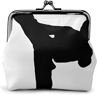 Coin Purse Taekwondo Design Pu Leather Exquisite Buckle Coin Purses Vintage Pouch Classic Kiss-Lock Change Purse Wallets Gift