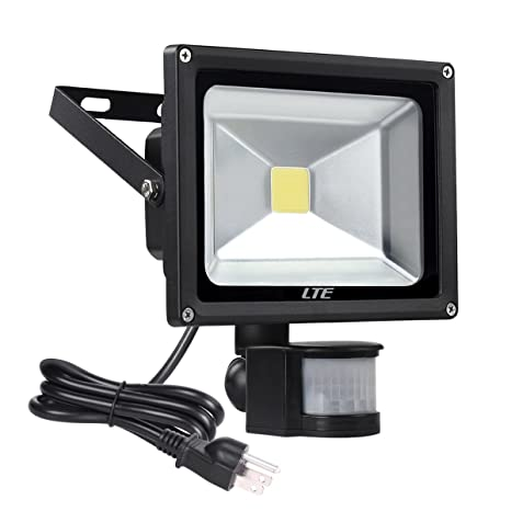 Lte 20w led motion sensor floodlight outdoor super bright security lte 20w led motion sensor floodlight outdoor super bright security flood lights 1600 lumens waterproof ip66 aloadofball Image collections