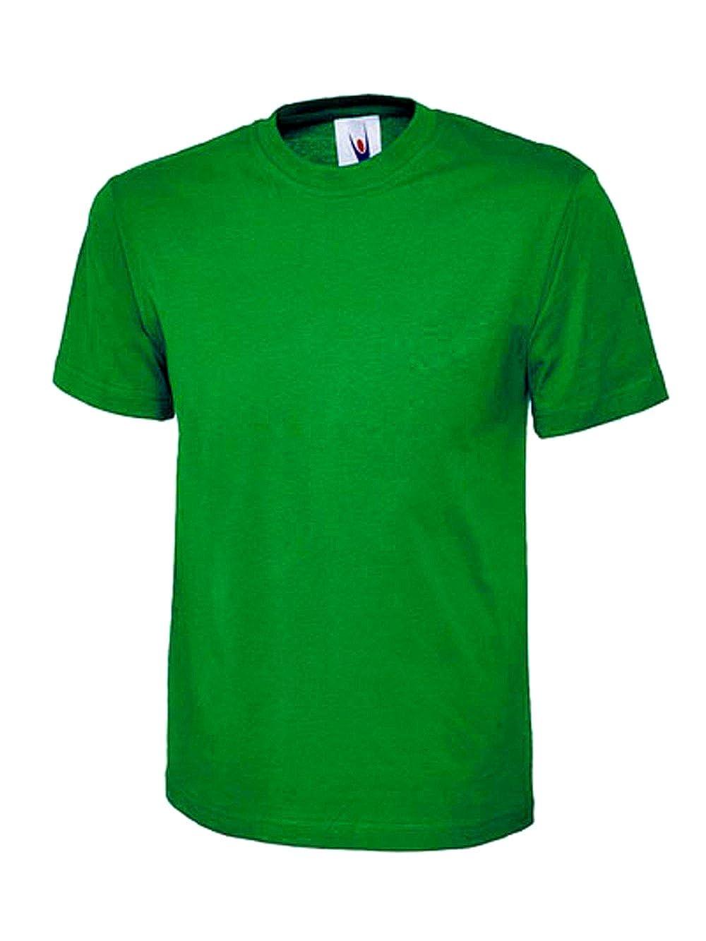 247-Clothing Ladies Loose Fit Plain T Shirt 100% Cotton Premium Top, Size 10 to 28 Plus