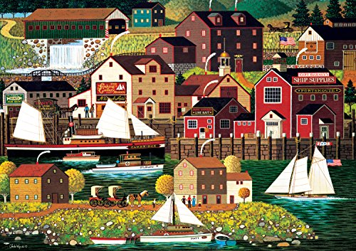 Buffalo Games - Charles Wysocki Americana Collection - The Cambridge - 500 Piece Jigsaw Puzzle