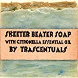 Skeeter Beater Soap with Citronella Essential Oil To Repel Mosquitoes and Other Biting Insect