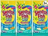 Swedish Fish mini Tropical 8oz (SET of 3)