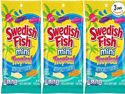 Swedish Fish mini Tropical 8oz (SET of 3) by Swedish Fish