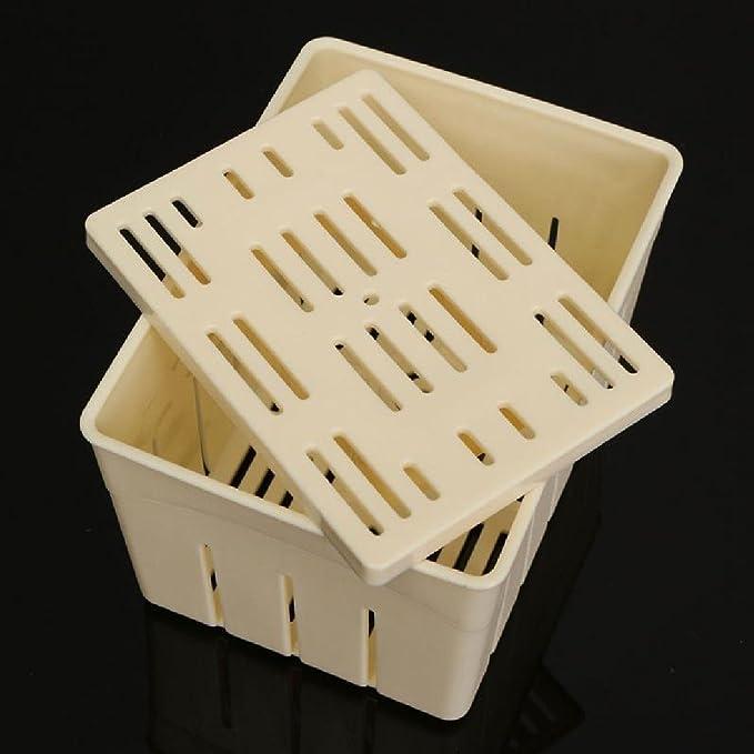 Luwu-Store DIY Homemade Tofu - Molde de plástico para Hacer Cortinas de Soja: Amazon.es: Hogar