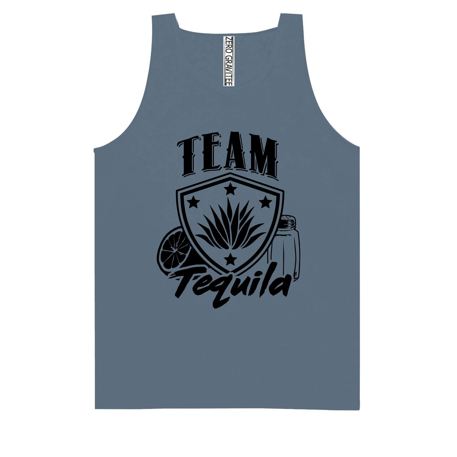 Team Tequila Adult Pigment Dye Tank Top