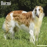 Borzoi Calendar 2017 - Dog Breed Calendars - 2016 - 2017 wall calendars - 16 Month by Avonside