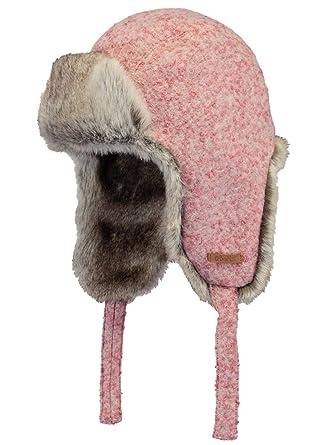 7121fb57580b BARTS - Chapka Rose Imitation Fourrure Enfant Fille 3 au 10 Ans  Amazon.fr   Vêtements et accessoires