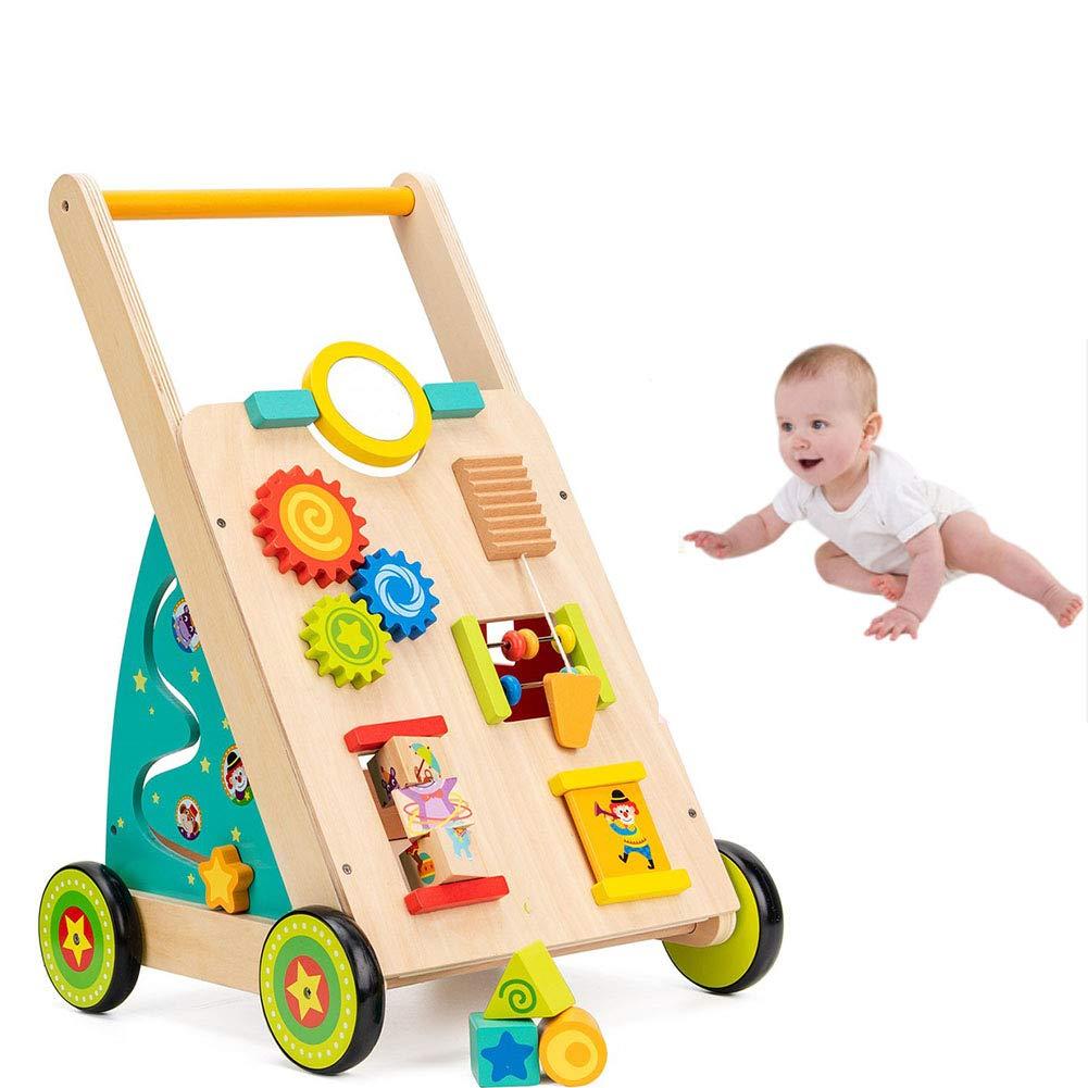 HBIAO Andadores para Bebes Juguetes de Madera para niños pequeños ...