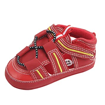 Amazon.com: Bebé Niño Niñas Sandalias, ♥ Beyonds Zapatos ...