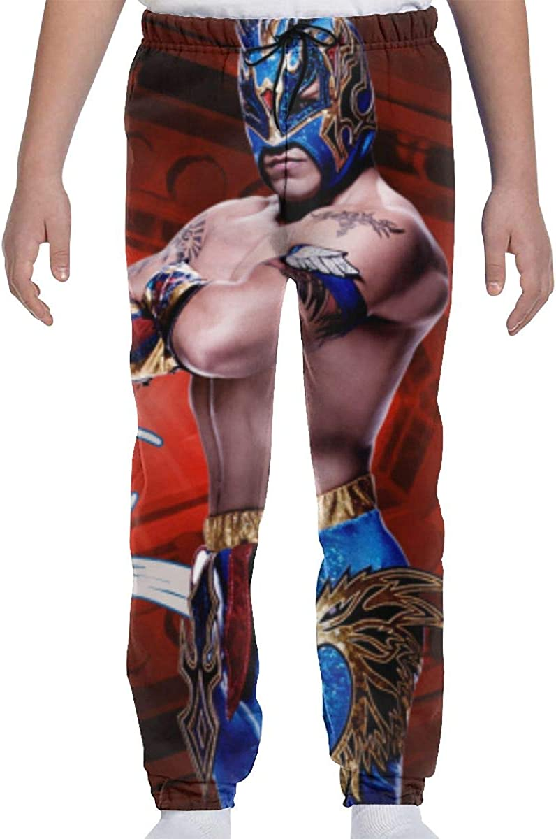 NismeimeihaiGG Rey Mysterio Youth 3D Joggers Pants Trousers Sport Track Sweatpants Baggy
